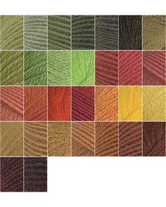 12. Summer colors: 30 Palette Sampler - Nature by Knit Picks Design Team