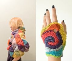 Imaginative crochet creations by Mengyu Chen. via @One Sheepish Girl Gorgeous!