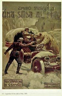 Una sfida al Polo, pubblicato dall'editore Bemporad di Firenze nel 1909