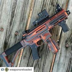 The new #Repost @weaponsreloaded ・・・ Beautiful work on this 9mm SBR via @nfafanatics :boom::gun:follow @gunfreaks:gun::boom:#weaponsreloaded #RVLVR #defendthesecond #guns #gunfreaks #gun #firearms