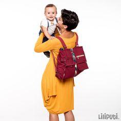 Liliputi® Mama Bag Nawaho | Liliputi baby shop Side Bags, Baby Wearing, Baby Shop, Diaper Bag, Satchel, Shoulder Bag, Shopping, Collection, Style