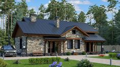 40 Most Popular Ideas for traditional house exterior cottages Style At Home, Sims 4 House Building, Country Home Exteriors, Cottage Renovation, House Front Design, Craftsman House Plans, Best House Plans, Home Design Plans, House Goals
