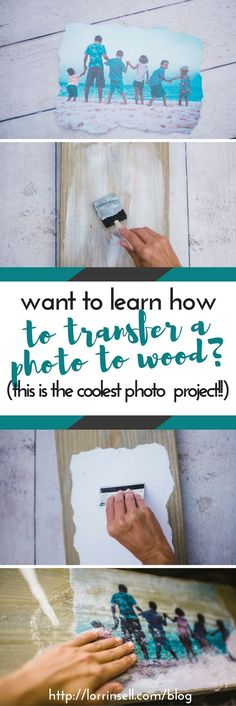 it may have taken me 3 tries to figure it out, but i finally figured out how to transfer a photo to wood. this tutorial is perfect!