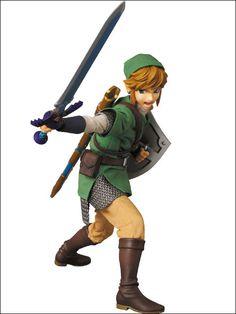 Medicom figure. Loz: Skyward Sword, Link