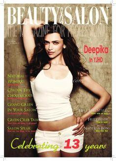 Deepika Padukone, Beauty And Salon Magazine [India] (July 2013)