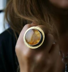 Source of the Power Sagenitic Agate Sterling Silver Ring http://www.allthingsvogue.com/best-aviators/