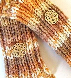 When I saw this unusual color combo of a soft orange, coffee and cream, it got my attention. This is a blend yarn and very soft. Stocking Stuffers For Women, Knit Or Crochet, Keep Warm, Color Combos, Fingerless Gloves, Arm Warmers, Stockings, Orange, Knitting