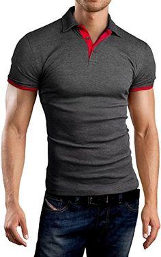Grin&Bear Slim Fit contrast Poloshirt Polo, charcoal-red, S, GB160 Grin&Bear http://www.amazon.com/dp/B00LZRWGY0/ref=cm_sw_r_pi_dp_MqVwub0GMM4YQ