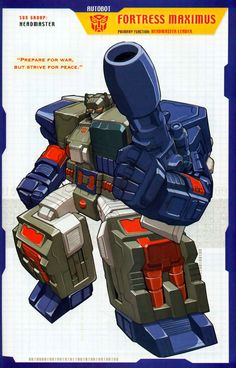 Transformer of the Day: Fortress Maximus (Part 1)