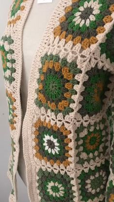 Crochet Star Blanket, Crochet Stars, Crochet Jacket, Crochet Cardigan, Yarn Projects, Crochet Projects, Crochet With Cotton Yarn, Crochet Shawls And Wraps, Crochet Fashion