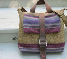 Messenger Laptop Reisetasche Rucksack mehrfarbiger von LilyWhitepad