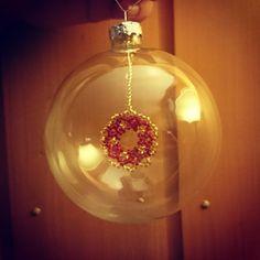 Homemade X-mas-ornament (Nr2)