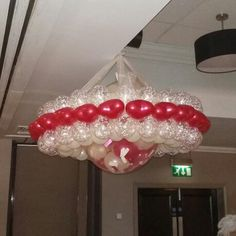 Halo And Bursting balloon at The Village Hotel #weddingballoons