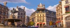 """On Cars 2 in Paris, there is a restaurant called Gastow's, a car-ified reference to Gusteau's, the gourmet Parisian restaurant from """"Ratatouille."""""""