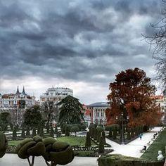 El parterre de El Retiro. Jardines del Buen Retiro, Madrid (photo by @dgpastor)