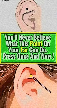 You ll Never Believe What This Point On Your Ear Can Do. Press Once And Wow ! Health And Fitness Expo, Health And Wellness Quotes, Fitness Workout For Women, Health And Fitness Articles, Health Tips For Women, Health And Wellbeing, Fitness App, Wellness Tips, Healthy Detox
