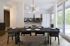 CLIC richtet Musterwohnung der Rainville Appartements ein | CLIC Conference Room, Table, Furniture, Home Decor, Apartments, Projects, Homes, Decoration Home, Room Decor