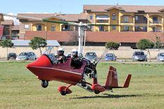 atterraggio autogiro SAT, il 22/02/2014