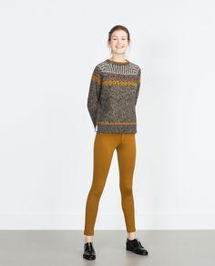 BASIC - LEGGINS MIT REISSVERSCHLUSS - Alles anzeigen - Hosen - DAMEN | Zara Deutschland