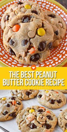 The Best Peanut Butter Cookie Recipe #peanutbuttercookie #cookie #cookierecipe