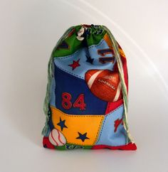 Kids Sport Storage Drawstring Bag Children drawstring by EvelynX, $5.00