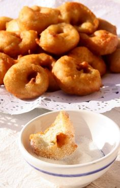 Every year, on October 20th, Day of the Virgins (Revetla de les Verges), Majorcan people eat fritters (bunyols) and flirt with the girls.... :) #Mallorca