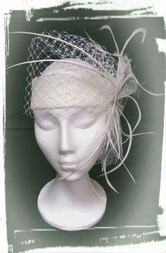 Tocado novia, headpieces, bridal headpieces, hats, millinery