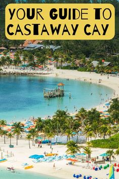 Stopping at Disney's private island? Check out all of the Castaway Cay activities and things to do on Castaway Cay for families and adults. Disney Cruise Tips, Disney Trips, Cruise Travel, Cruise Vacation, Travel Couple, Family Travel, Family Vacations, Travel Around The World, Around The Worlds