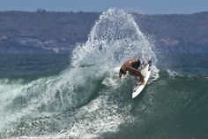 """Conner Coffin: """"There are times when I feel I'm in a bit of a slump, or am having a few shockers in a row, but I feel like that happens if you are trying too hard. In that case, I try to cruise on some waves and just feel my rails in the water—just going fast and getting a good feeling back. When I'm relaxed and loose is when I feel like I do my best surfing."""" Photo: Masters"""