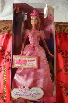 Mattel Barbie and The Three Musketeers Corinne Doll P7841 #Mattel #DollswithClothingAccessories