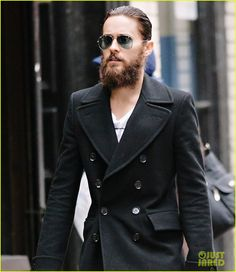Jared Leto with a beard.  .Emy Cubbins.