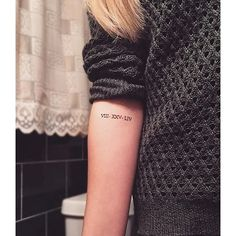 Roman numerals | 50 of the Most Popular Tattoo Designs For Chic Women | POPSUGAR Beauty