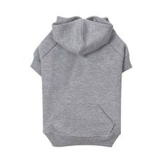 Zack & Zoey Polyester/Cotton Basic Dog Hoodie, Small, 12-Inch, Heather Gray - Apparel & Accessories #Pet #Pets #Accessories #Apparel #Clothes #Clothing #Christmas #Holiday #Holidays #Wish #List #Idea #Ideas #Dog #Dogs $8.40
