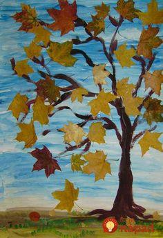Susedka mi nechcela veriť, že listy nie sú kupované, keď ich toľko týždňov videla na mojich vchodových dverách. Odporúčam vyskúšať pre každého, kto rád tvorí z listov :-). Fall Arts And Crafts, Autumn Crafts, Autumn Art, Nature Crafts, Autumn Trees, Animal Drawings, Art Drawings, Autumn Activities For Kids, Nature Tree