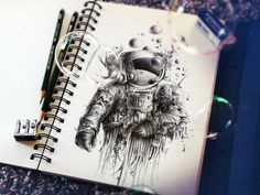 French illustrator Pez and his super cool sketchbook art!