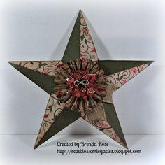 Rose Blossom Legacies: My Creations Star, Pear & Partridge Paper