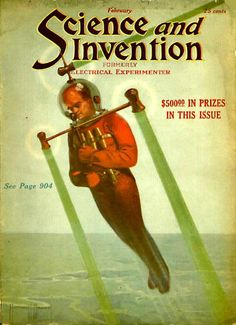 "February, 1922 issue of ""Science and Invention"" magazine"