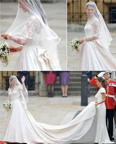 The dress of the century - the perfect marriage of classic royal style and modern simplicity.