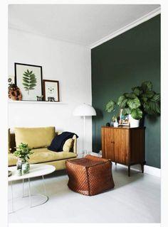 Mooi kleur muur icm cognac