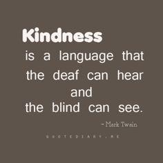 Kindness !