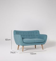Mimi Two-seater Sofa | Swoon Editions Looks super comfortable to take a nap in