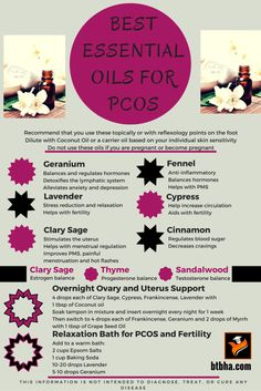 Best Essential Oils For PCOS Natural ways to reduce PCOS symptoms. Plant sourced supplemets for PCOS What Are Essential Oils, Essential Oil Uses, Young Living Essential Oils, Pilates Videos, Autogenic Training, Alternative Heilmethoden, Alternative Health, Pcos Fertility, Fertility Doctor