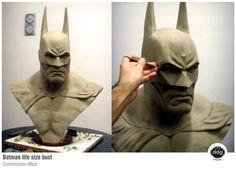 [Escultura] Batman Arkham City - Bust Life-Size | by Diego Ddg Colecciones