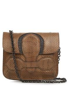 13fcc97fd44f Small snakeskin cross-body bag
