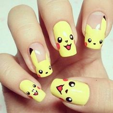 11 Pokemon Nails From Instagram So Your Mani Can Be The Raddest In The Land