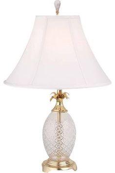 Waterford Crystal Pineapple lamp   Home   Pinterest   Pineapple ...