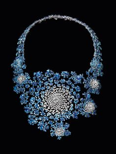 The House of Boucheron. Marc Newson, the renowned product designer, created a mathematically generated fractal necklace.