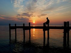 The East Coast is typically better known for its sunrises, but not so in North Carolina's Outer Banks. Set up your lawn chair facing west, a...