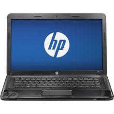 "HP - 15.6"" Laptop - 4GB Memory - 500GB Hard Drive - Black Licorice"