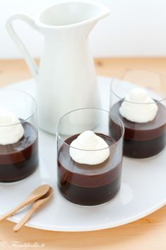 Bicchierini all'espresso cioccolato e Marsala